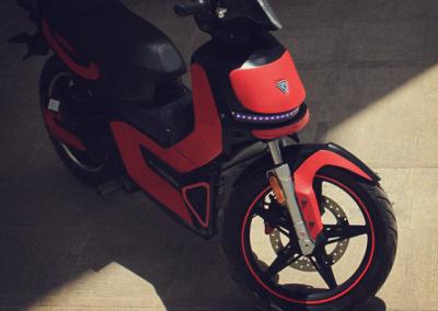 موتورسیکلت برقی E_RUN