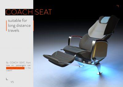 COACH SEAT (صندلی اتوبوس بین شهری)