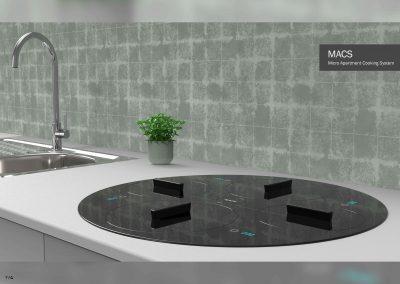 مَکس – سیستم پخت و پز برای آپارتمان های کوچک