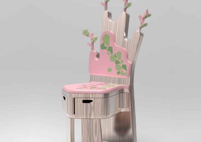 صندلی درختی
