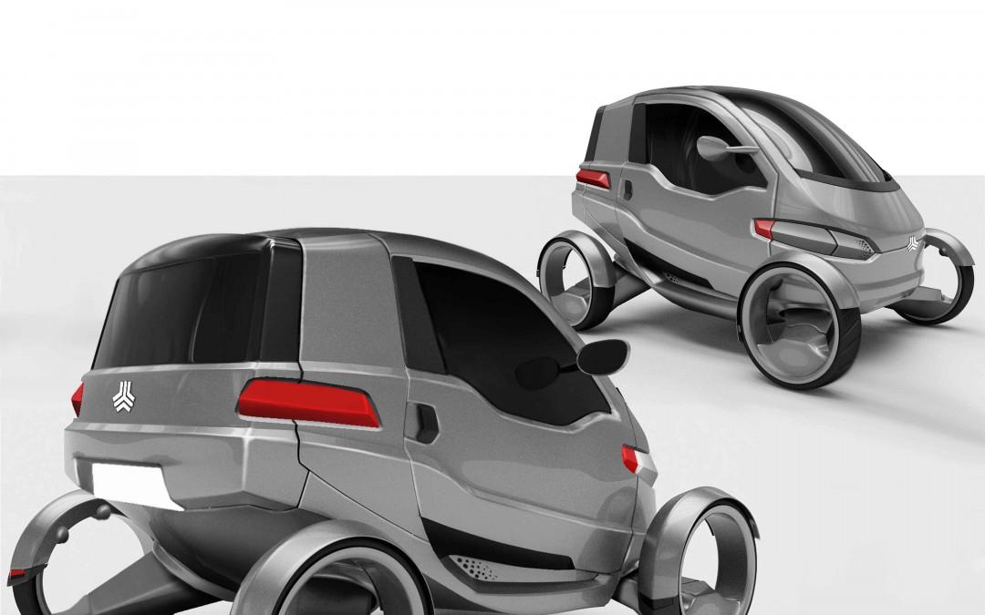 خودروی برقی الکتا