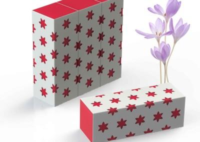 بسته بندی زعفران زیبا