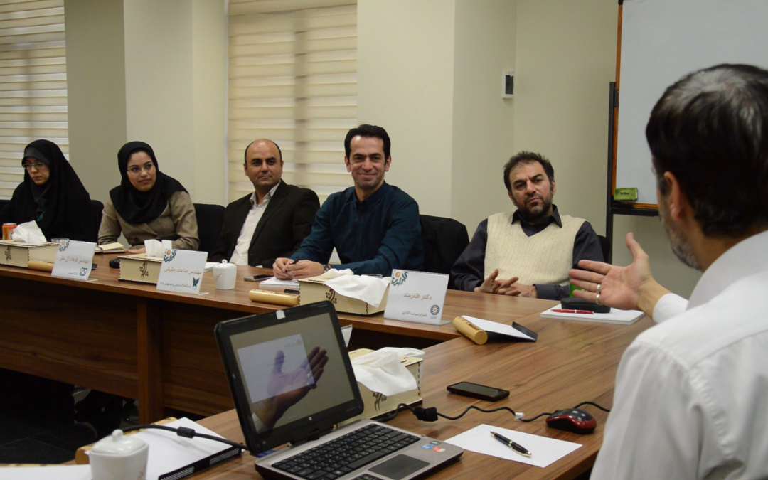 جلسه هماهنگی دانشگاه های طراحی صنعتی کشور در آیدیران